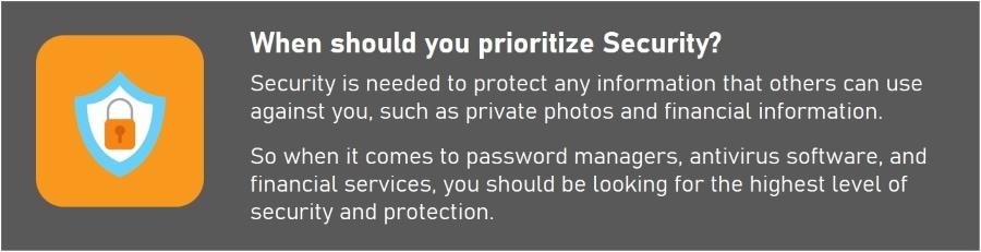 Security vs. Privacy - Prioritizing Security vs Privacy vs Anonymity