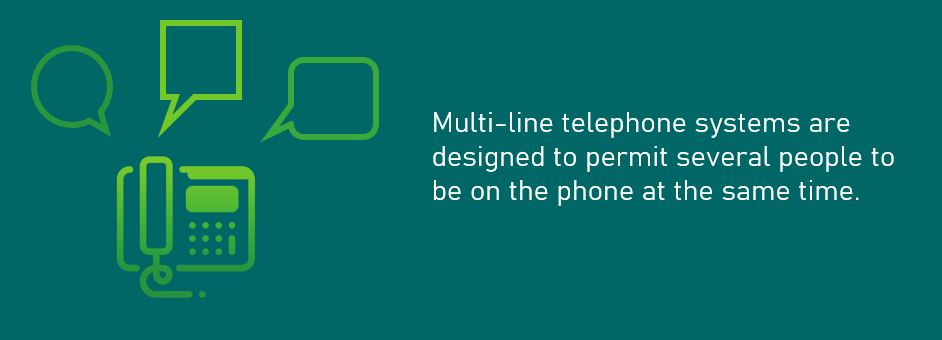Types of Phone Systems - multi-line Phone Systems