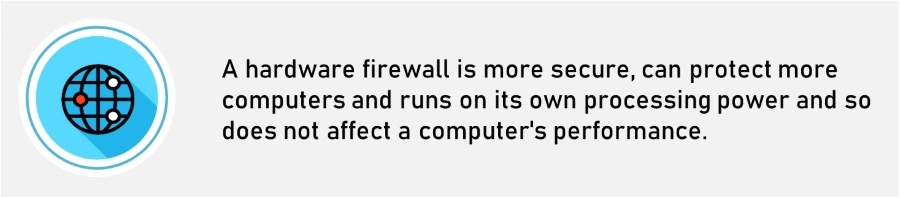 Software Firewall Vs Hardware Firewall - What is the difference